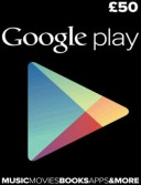 Google Play £50 Gift Card (UK)