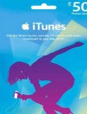 iTunes £50 Gift Card (UK)