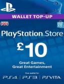 PlayStation Network Card (PSN) 10 GBP (UK)