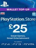 PlayStation Network Card (PSN) 25 GBP (UK)