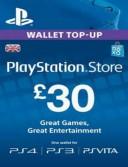 PlayStation Network Card (PSN) £30 (UK)