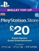 PlayStation Network Card (PSN) 20 GBP (UK)