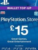PlayStation Network Card (PSN) 15 GBP (UK)