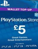 PlayStation Network Card (PSN) 5 GBP (UK)