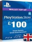 PlayStation Network Card (PSN) £100 (UK)