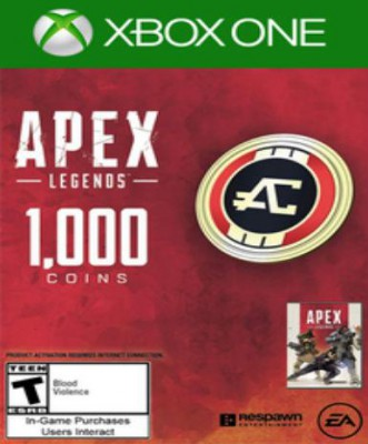 Apex Legends - 1000 Apex Coins - Xbox One (Expiration Date 31/05/2019)