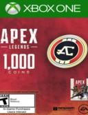 Apex Legends - 1000 Apex Coins - Xbox One (Expiration Date 31/05/2019)