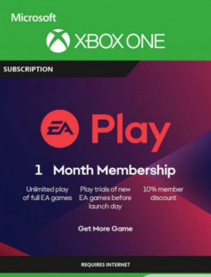 EA Play code 1 month (Xbox one)