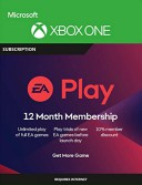 EA Play code 12 months (Xbox one)